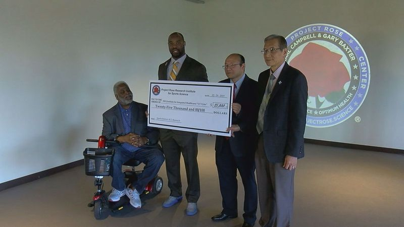 Project Rose Institute for Sports Science donated $25,000 to UT Tyler. The donation will help...