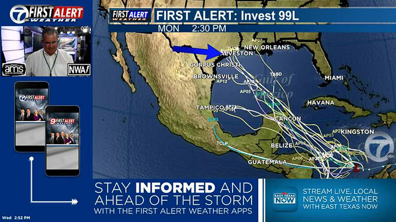 Monitoring the tropics closely. Possible storm/hurricane in the Gulf this weekend.