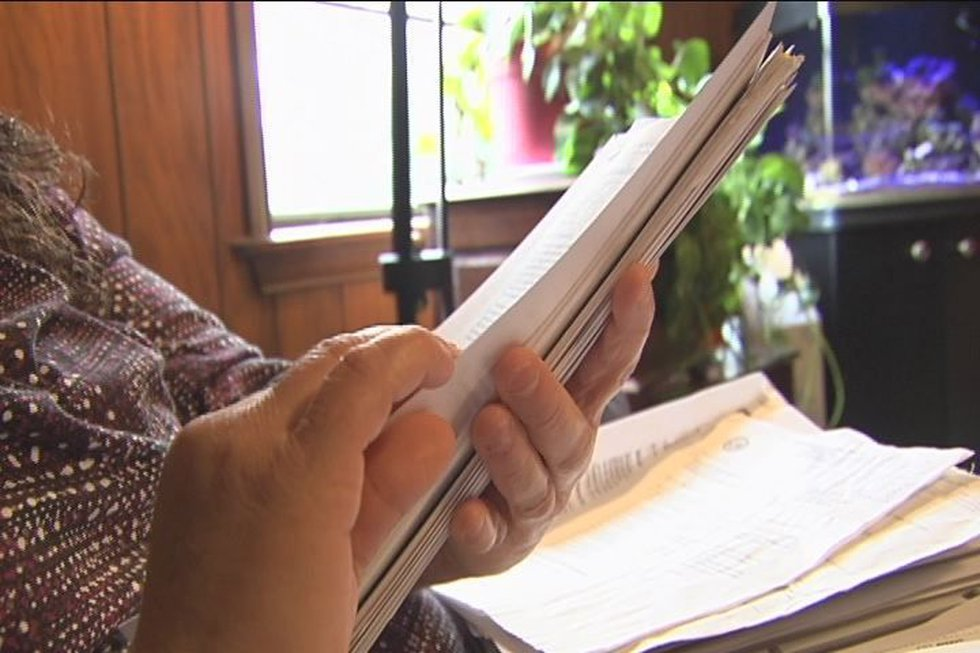 Widow Janie Michels is still waiting on approval of benefits from the VA.