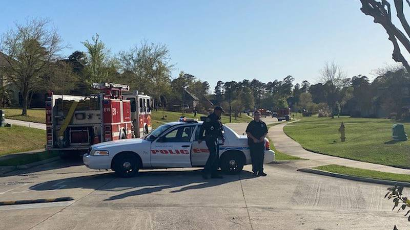 At least 14 units responded to a home on Avellino Lane near Waters Edge Circle in Shreveport,...