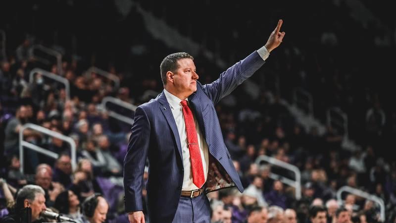 Texas Tech Head Basketball Coach Chris Beard