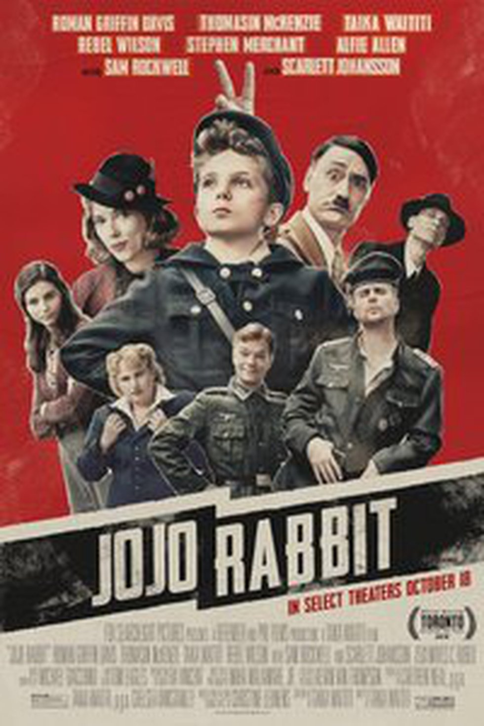 JoJo Rabbit nominated for best picture at the 92nd Annual Academy Awards