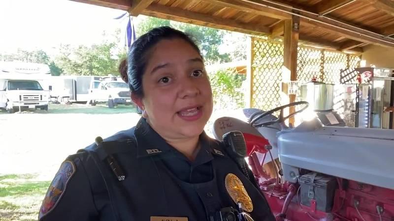 Jefferson Police Officer Mary Ayala