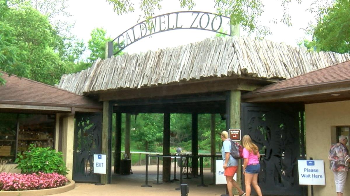 Caldwell Zoo Entrance