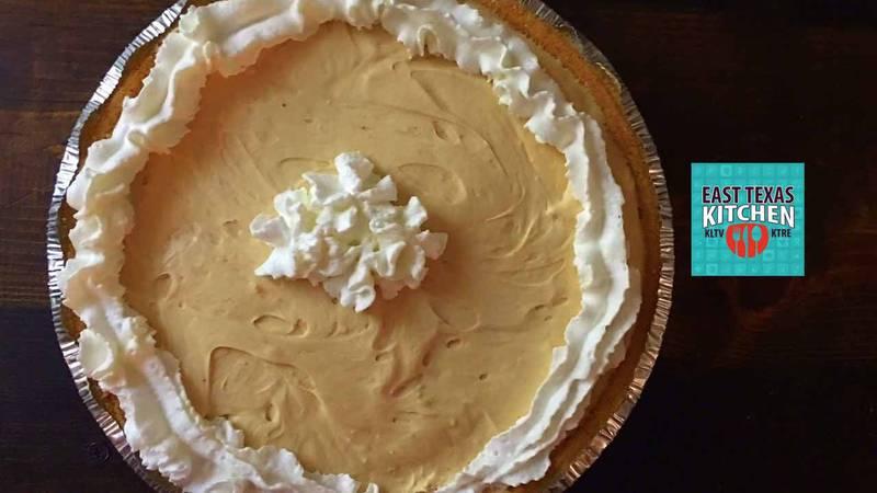 No-bake peanut butter pie by Mama Steph
