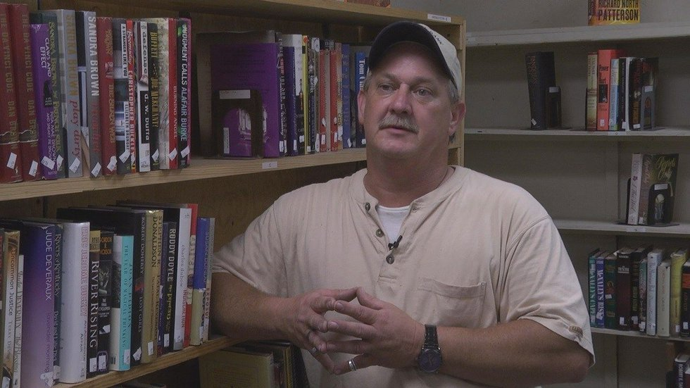 Inventory manager Scott Hendrix earned a full-time job through one of the ministries supported...