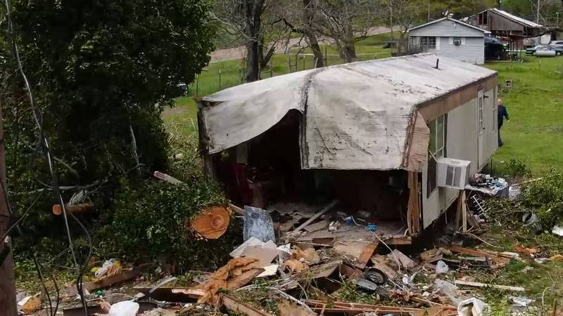 A woman lost her life in a home in Deadwood, Texas, during a storm the night of March 27. The...