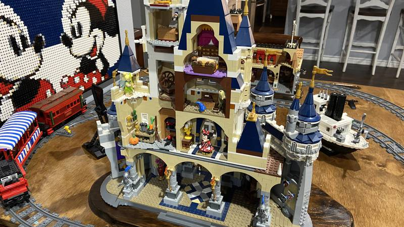 Greg Smith of Lufkin has a Lego collection that includes motorized pieces and full sets of...