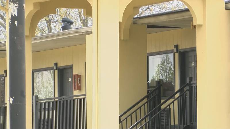 A mother and child were shot Saturday, March 20, 2021 at the Super 8 Motel on Monkhouse Drive...