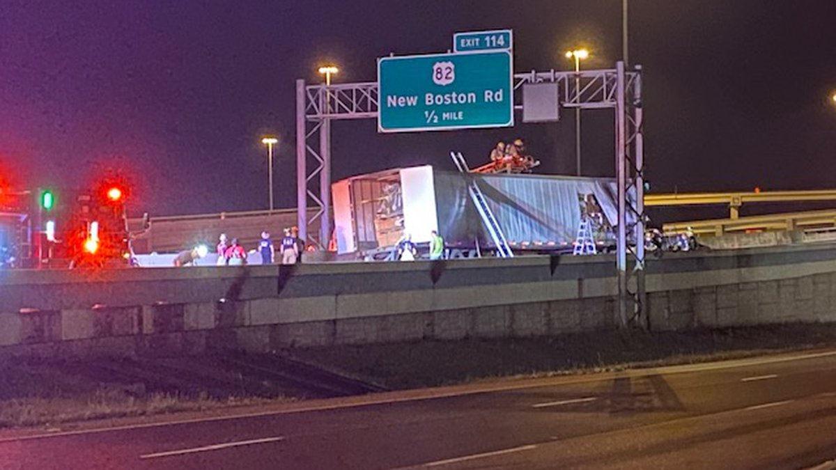 It happened just after 1:30 a.m. on June 30. The driver of an 18-wheeler allegedly lost control...