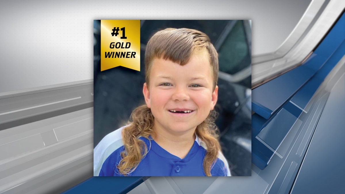 Jax Crossland, 8, of Hunt County, was crowned the winner of the kids competition in the U.S.A....