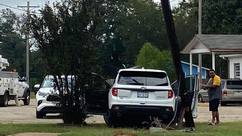 Crash on Pine Tree Road in Longview
