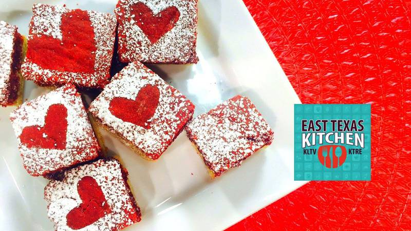 Mama Steph's Red Velvet Chocolate Chip Cookie Bars