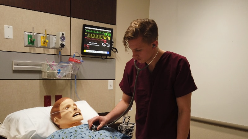 West Texas Universities are seeing an increase in students apply for health care degrees....