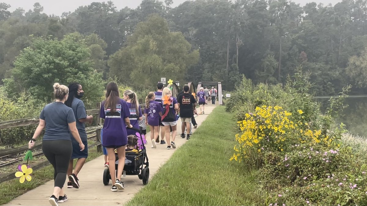 Walk to End Alzheimer's returns to Lufkin after virtual event last year.