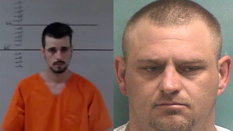 Pictured are Bryan Johnson (left) and David Whitehead. (Source: San Augustine County Sheriff's...