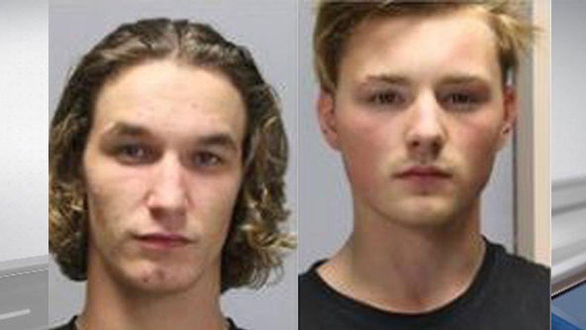 Pitued are Justn Chaison (left) and Jared Saulsbury. (Source: Tyler County Sheriff's Office...