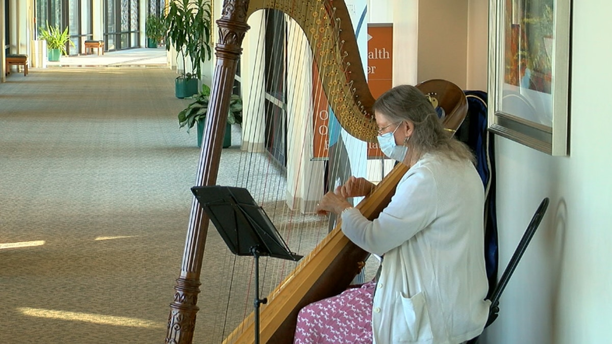 The East Texas Orchestra said they chose a harpist rather than another instrument  because of...