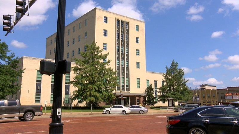 Smith County courthouse in downtown Tyler. (Source: Brionna Rivers/KLTV)