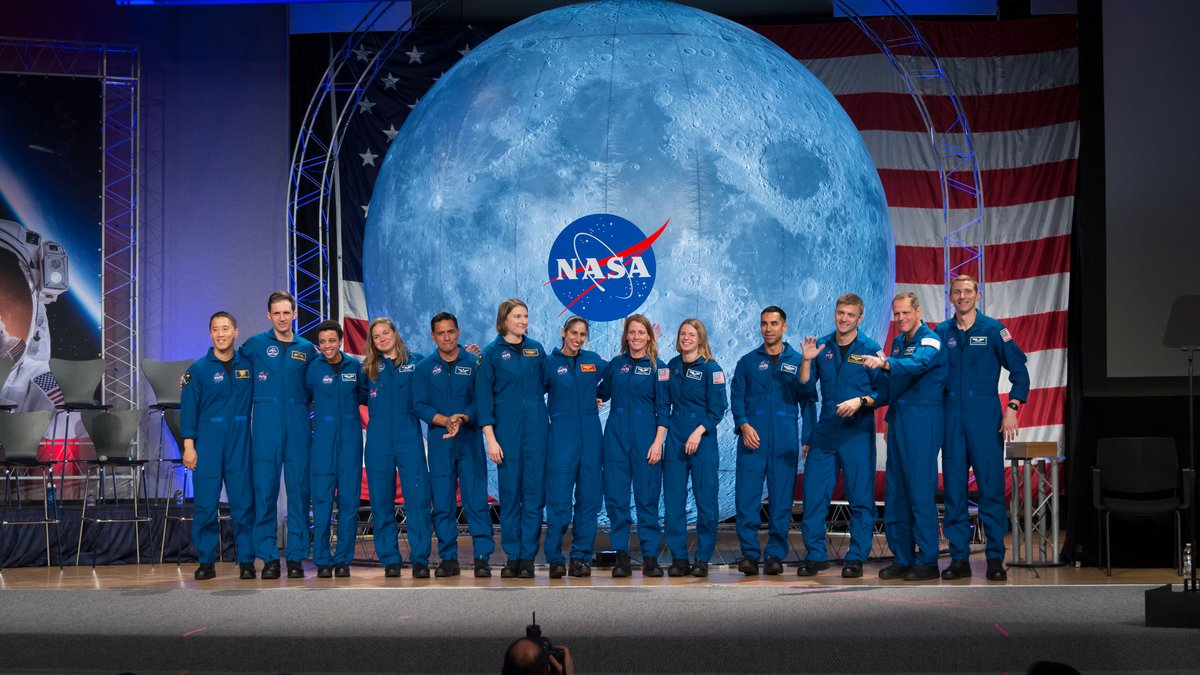 Eleven new astronauts selected in 2017 graduated from their initial training on Jan. 10, 2020,...