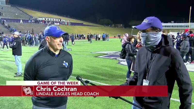 2020 Week 15 Coach Interview: Lindale Eagles Head Coach Chris Cochran