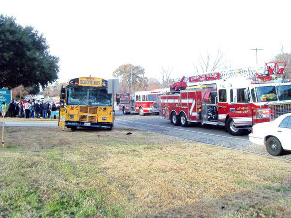 Athens ISD is still working with the Athens Police Department to determine what caused the crash.