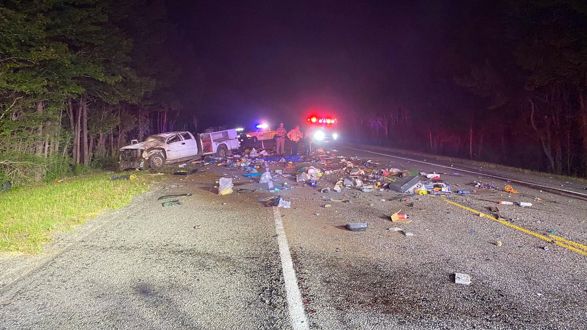 One person was injured when a pickup rolled over on SH 322 in Rusk County late Friday night....