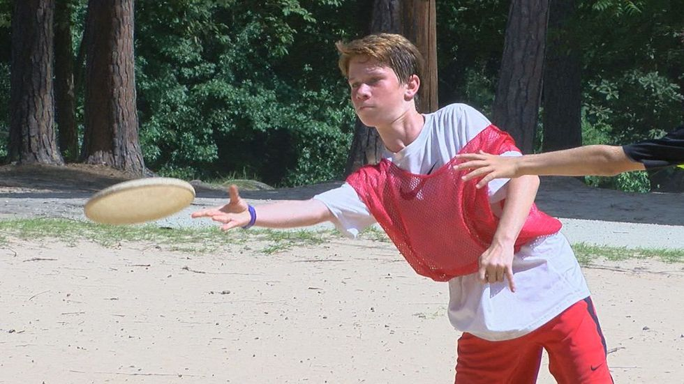 Campers choose activities in which they want to participate. (Source: KLTV staff)