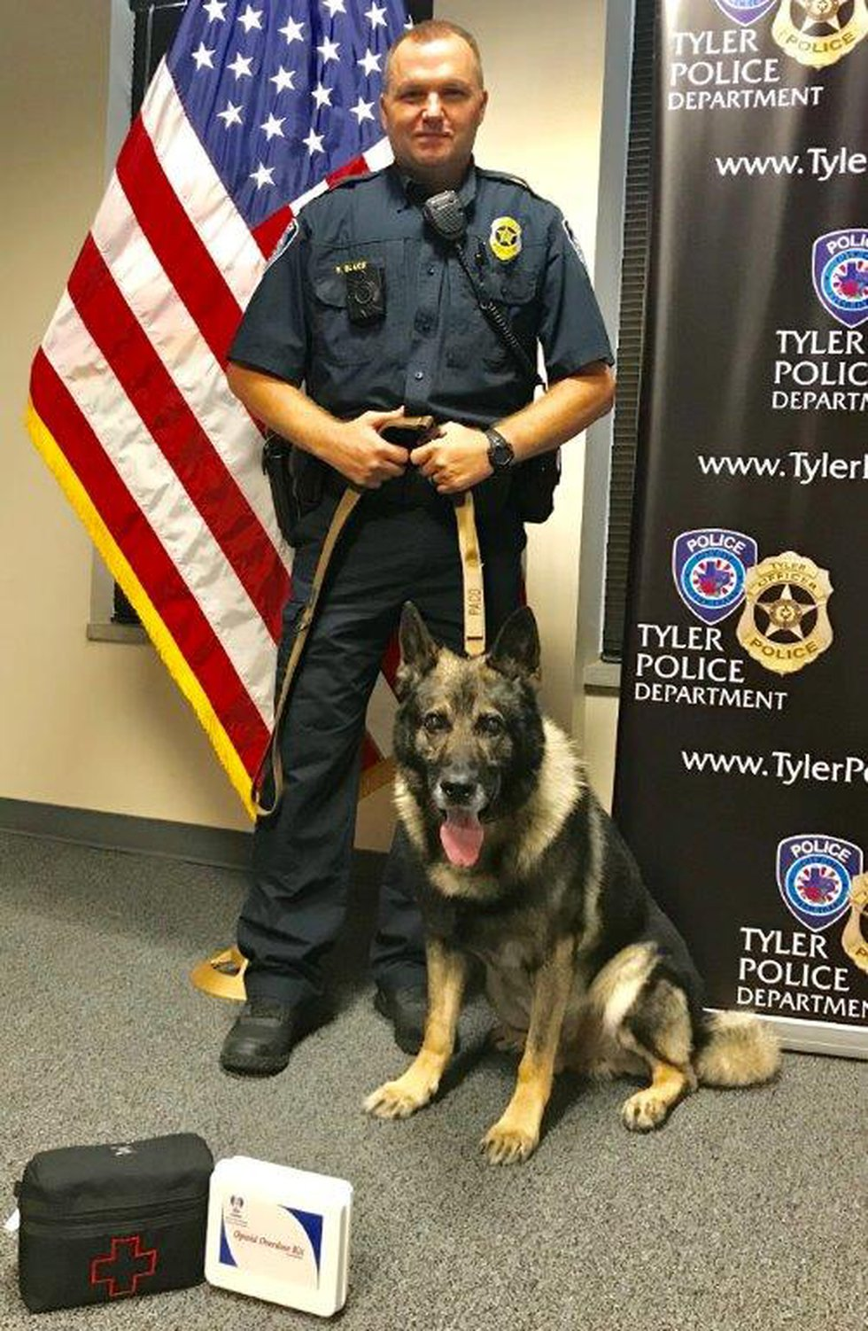 Tyler police announced the retirement of K-9 Officer Paco after 8 years of loyal service to the...