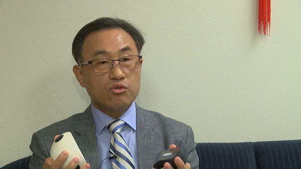 UT Tyler Mechanical Engineering Professor Chung Hyun Goh talks Thursday, Oct. 1, 2020 about the...
