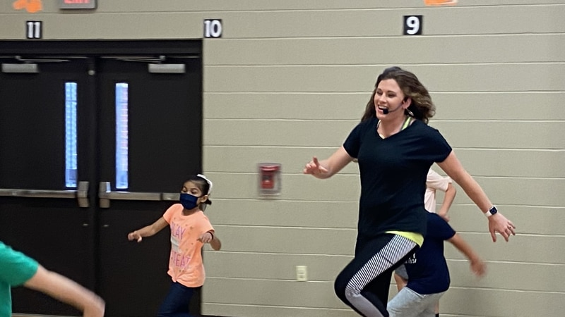 Ashley Phelps has been teaching at Andy Woods Elementary for 13 years