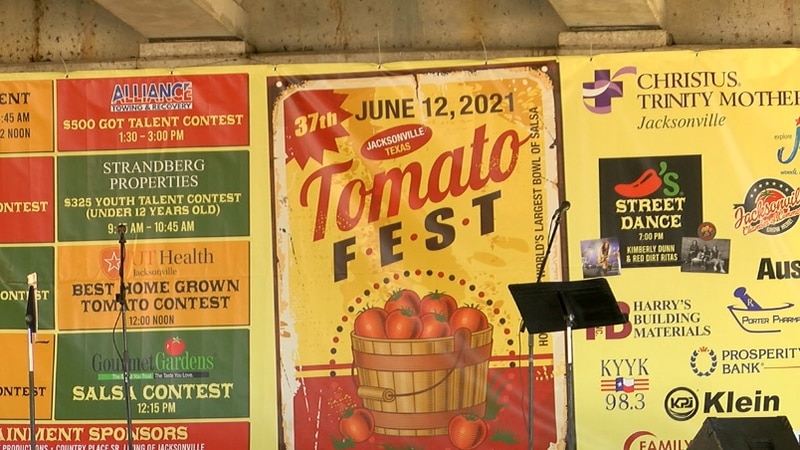 Tomato Fest will feature 5 blocks and over 200 vendors on site.