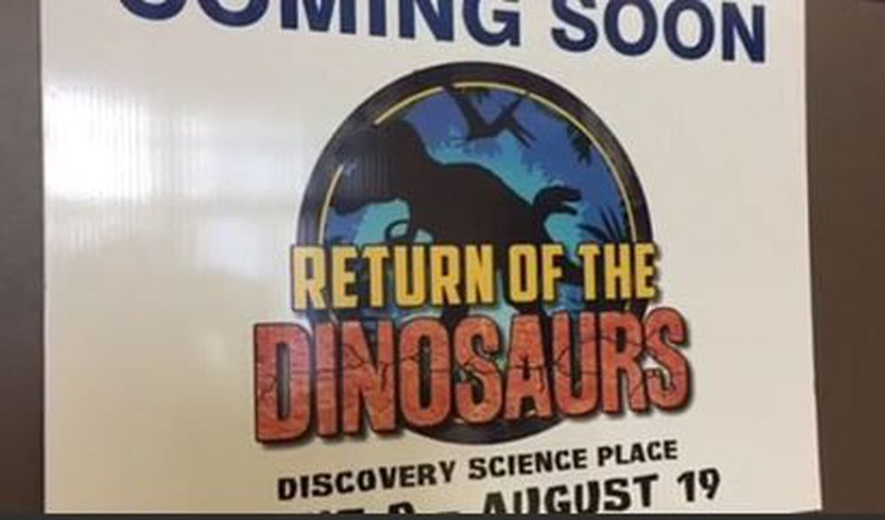 Discovery Science Place installing new dinosaur exhibit (Source: KLTV)
