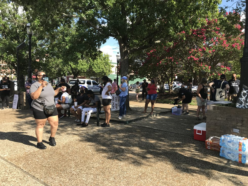 The Black Lives of ETX held a women's march in downtown Tyler Saturday evening. (Source: KLTV...