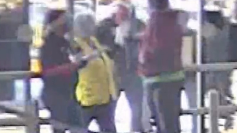 Video footage from Walmart shows the suspect in a Christmas Eve assault.