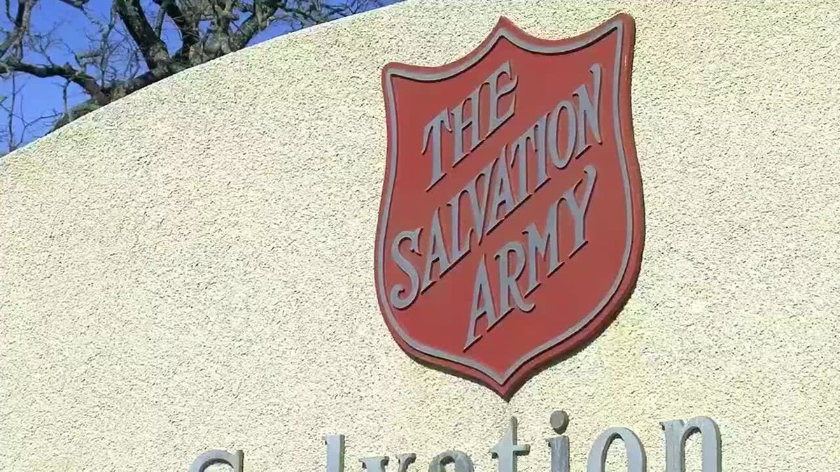 The search is still on for a Salvation Army donation kettle that was stolen from in front of a...