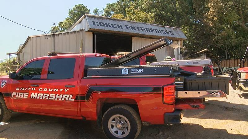 Smith County Fire is ruling out arson as the cause of the incident that burned the Coker...
