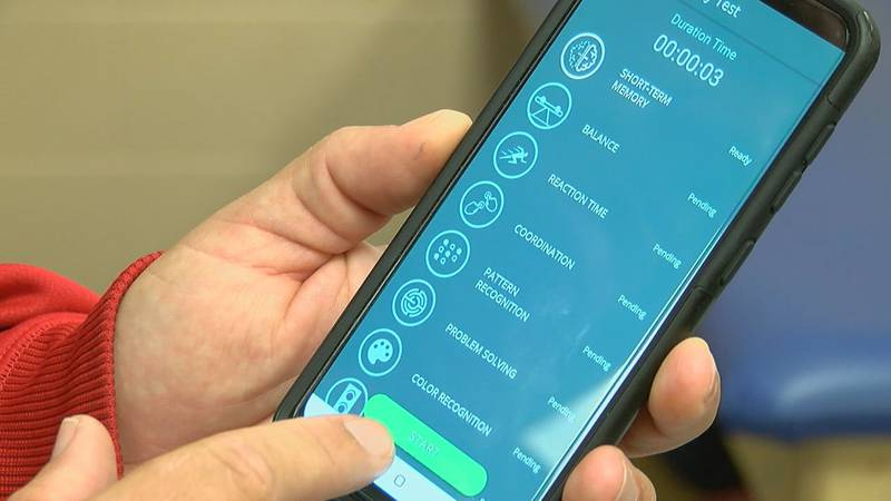 Catching traumatic injuries before they become worse... There's an app for that.