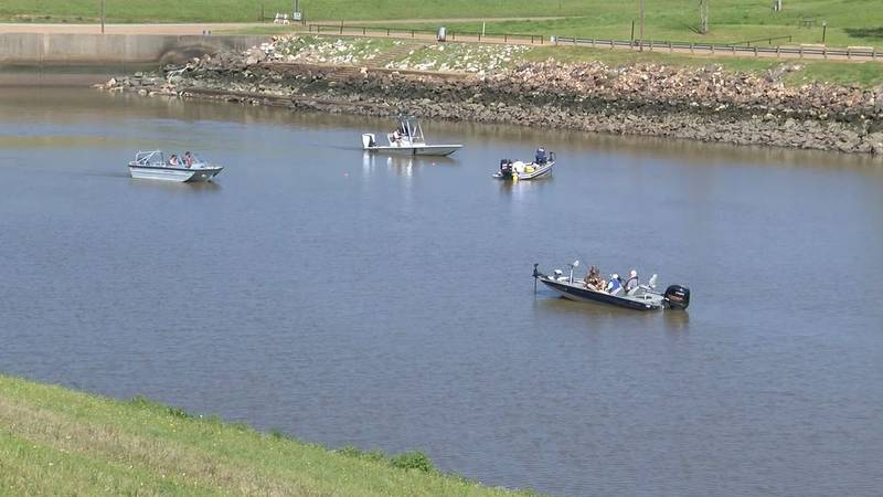 Texas game wardens and volunteers resumed search efforts Monday, April 5 for the driver who...