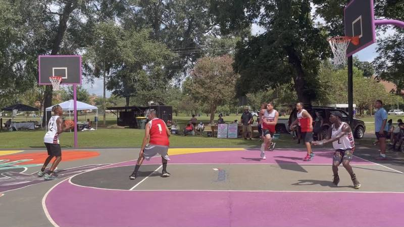 Parks Advocacy League hosts basketball tournament at Festival Park
