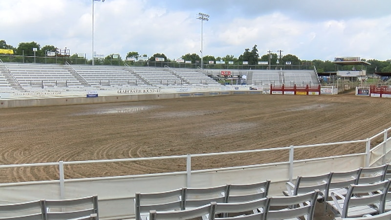 Gladewater Rodeo stadium