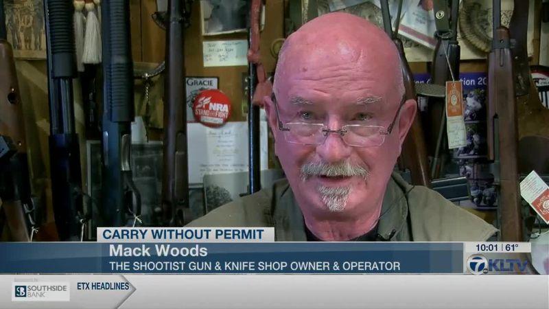 Gun store owner reacts to Rep. Matt Schaefer bill proposal allowing for carrying guns without...