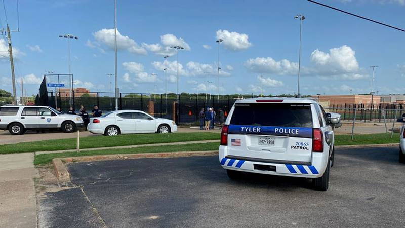 A body was found at a Tyler ISD job site on Saturday. (Source: KLTV Staff)