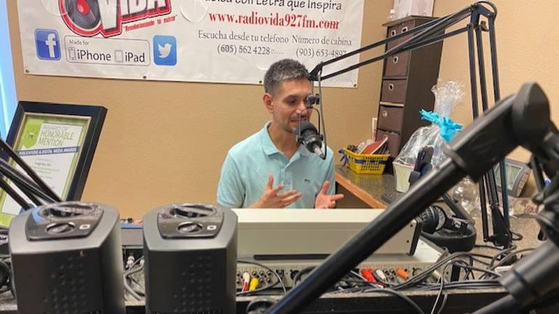 Longview ISD Spanish radio show