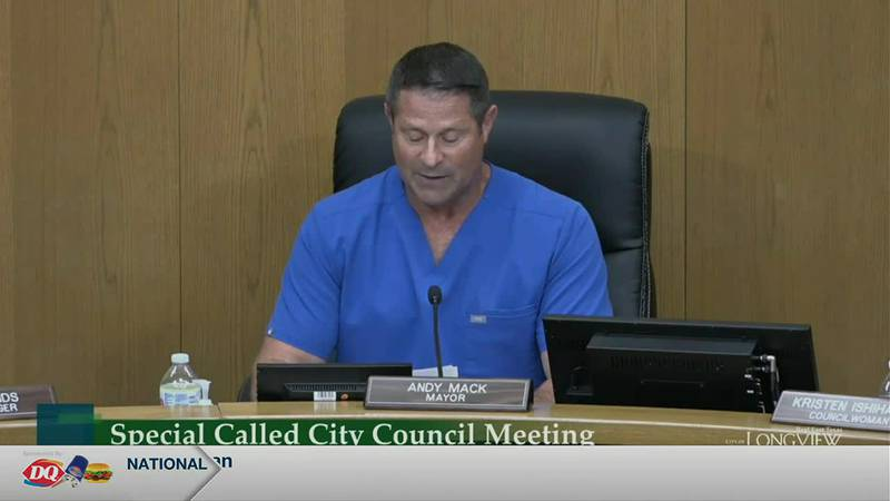On Thursday evening in their regular city council meeting, Mayor Andy Mack read a resolution...