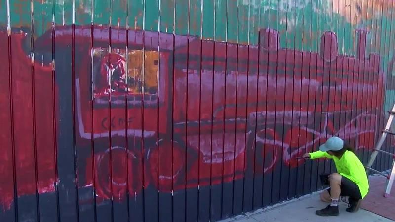 WebXtra: Longview Heritage Mural