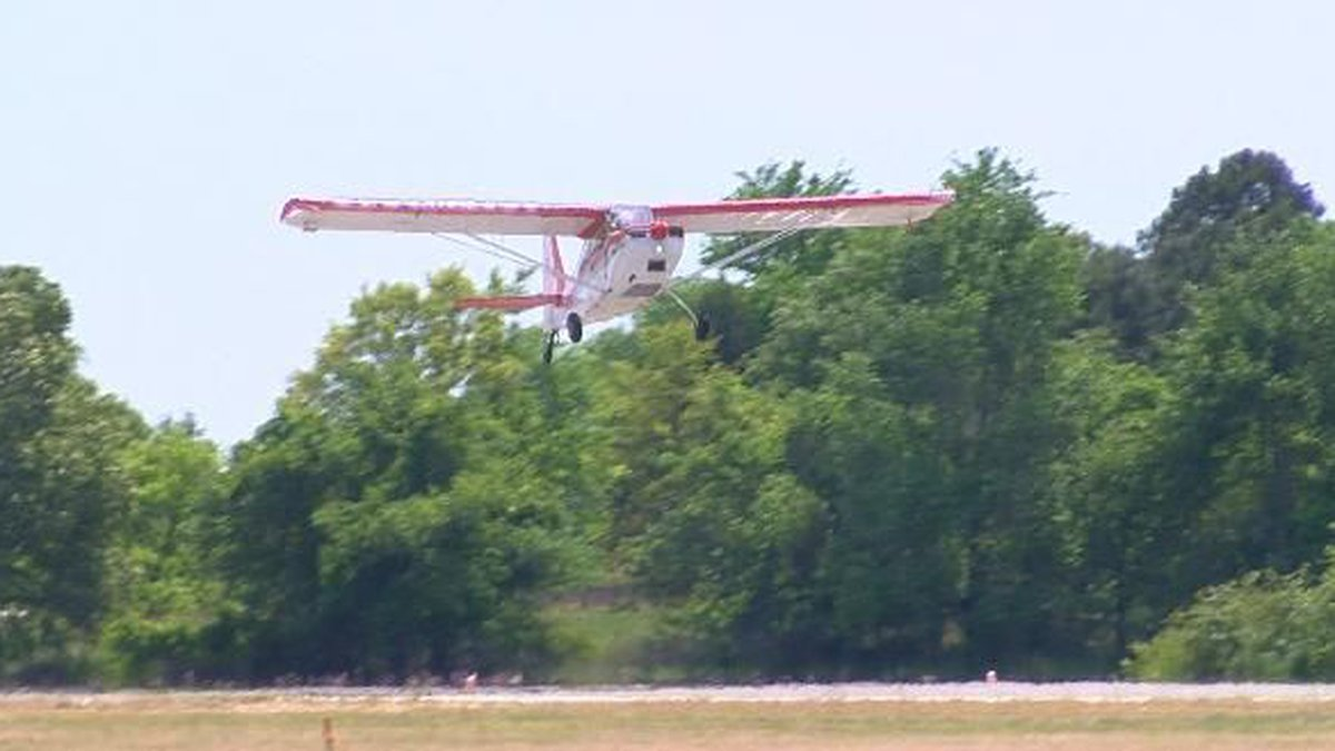 If it's not safe to land, pilots are choosinf to stay on the ground. Photo by Jamey Boyum KLTV.