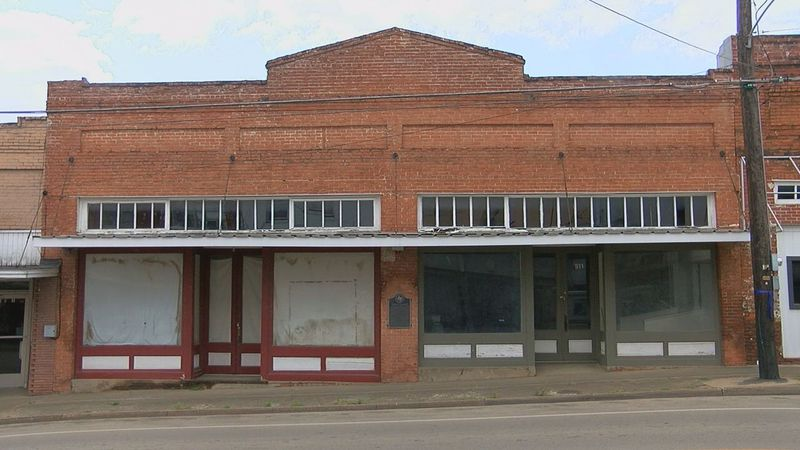 By 1893, W.E. Mays owned this structure. It housed a newspaper and theater, among other...