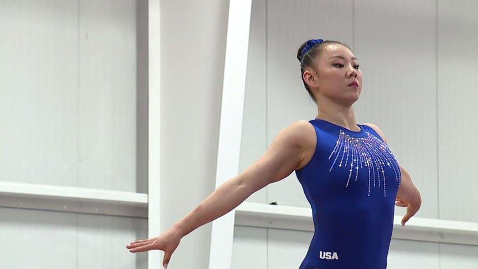 Kara Eaker, an alternate on the United States women's gymnastics team, tested positive for...