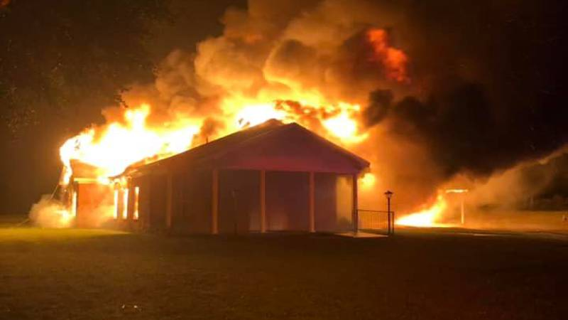 A church in Nacogdoches County was deemed a total loss after a fire that officials say may be...